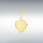 9ct Gorgeous Gold Yellow Heart Locket