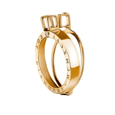 Yellow Gold Plated Emozioni Coin Keeper