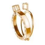 Yellow Gold Plated Emozioni 33mm Coin Keeper