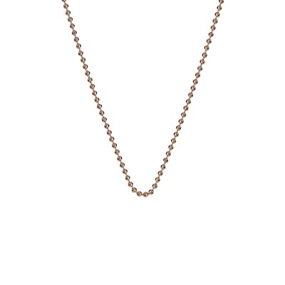 Rose Gold HD Plated Emozioni 30″ Bead Chain
