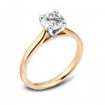 18ct Yellow Gold 0.50ct Brilliant Cut Engagement Ring