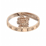 Emozioni Rose Gold Plated Love 33mm Coin