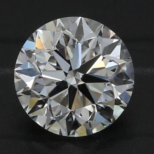 Platinum Brilliant Cut Diamond Engagement Ring 1.21ct