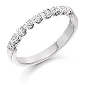 18ct Gold Brilliant Cut Eternity Ring