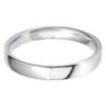 Classic wedding band for females