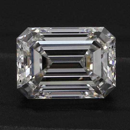 Platinum Emerald Cut Diamond Engagement Ring 1.00ct