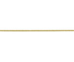 18ct Yellow Gold 18in Adjustable Spiga Chain