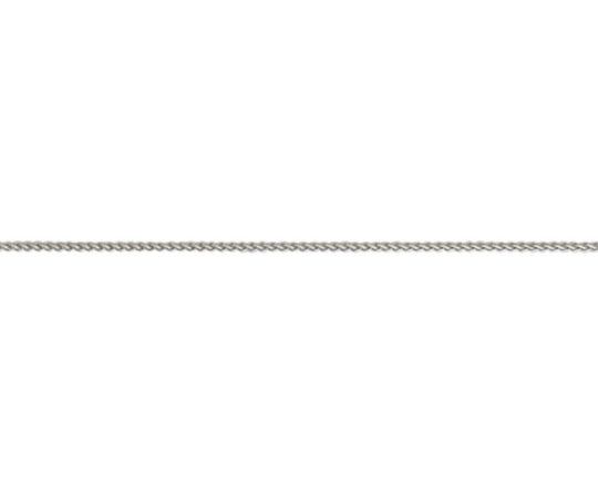 18ct White Gold 18in Adjustable Spiga Chain