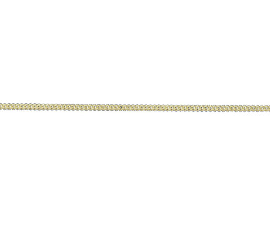9ct Yellow Gold 18in Filed Curb Chain