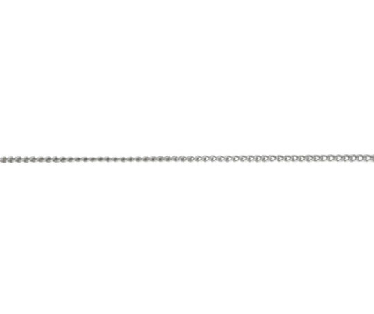 18ct White Gold 18in Curb Chain