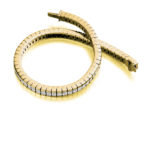 18ct Yellow Gold Princess Cut Diamond Channel Set Tennis Bracelet 6.50ct