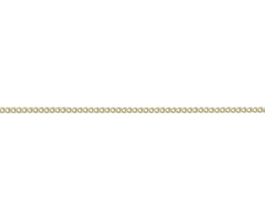 9ct Yellow Gold 18in Curb Chain