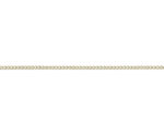 18ct Yellow Gold 18in Curb Chain