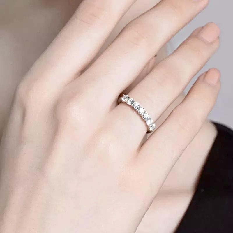 Ladies eternity ring collection John Macintyre & Son Glasgow
